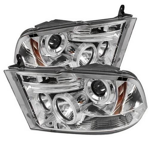 Aftermarket chrome CCFL headlights