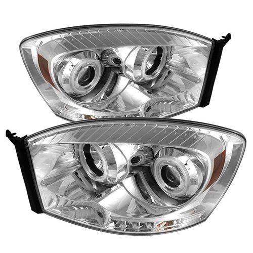 CCFL chrome headlights for Ford F-150