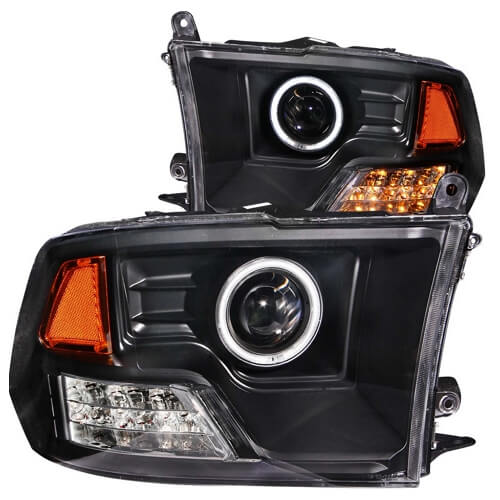 Aftermarket halo lights for 2500 RAM