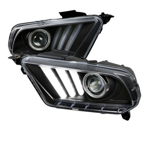 Ford Mustang LED projector headlights