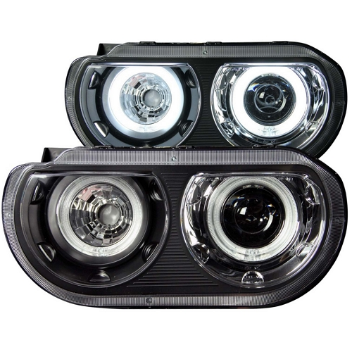Halo projector headlights for Dodge Challenger