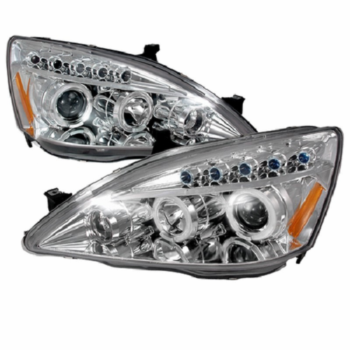 Spec-D chrome dual halo projector headlights