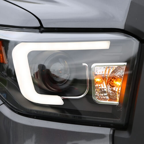 Spec-D headlights with U-bars