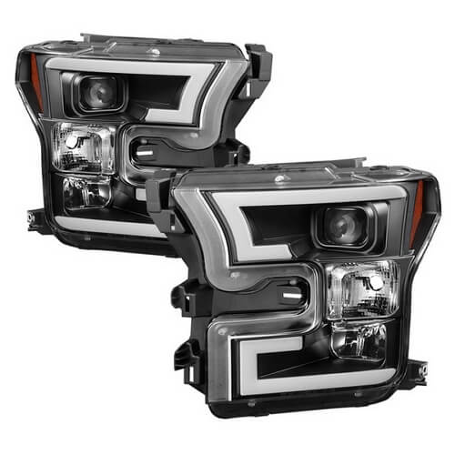 Spyder Projector Headlights Ford F-150