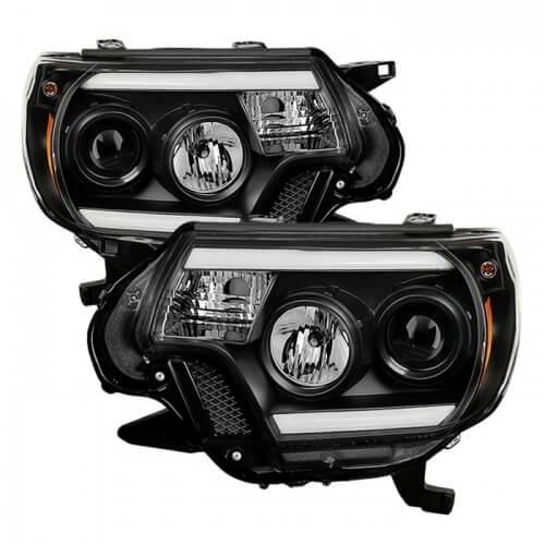Spyder Projector Headlights Toyota Tacoma
