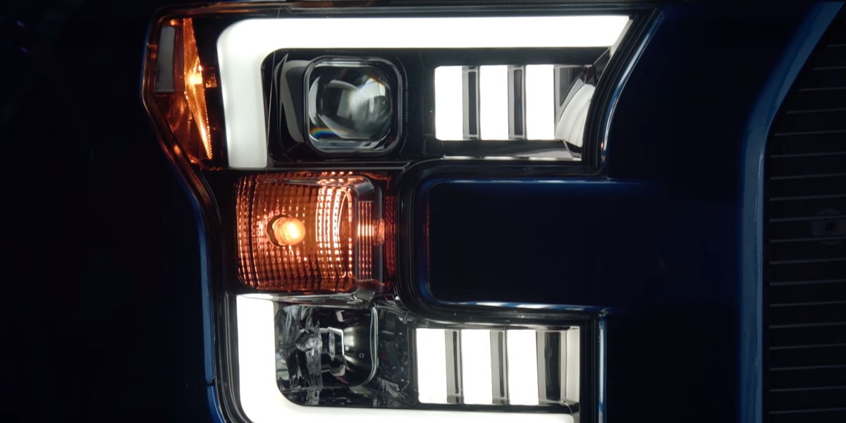 2017 Ford F-150 with Recon headlights installed