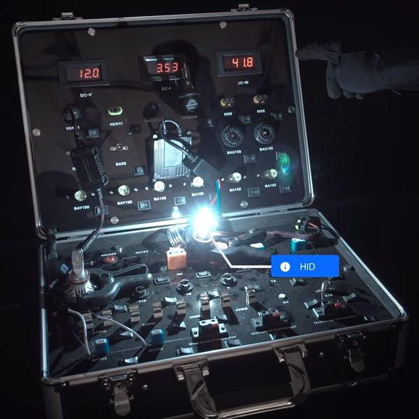 HID bulb: 41.9 watts