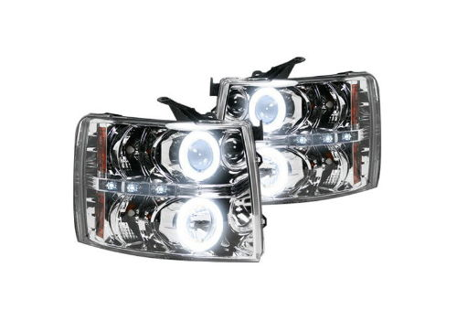 Recon Chrome Halo Headlights