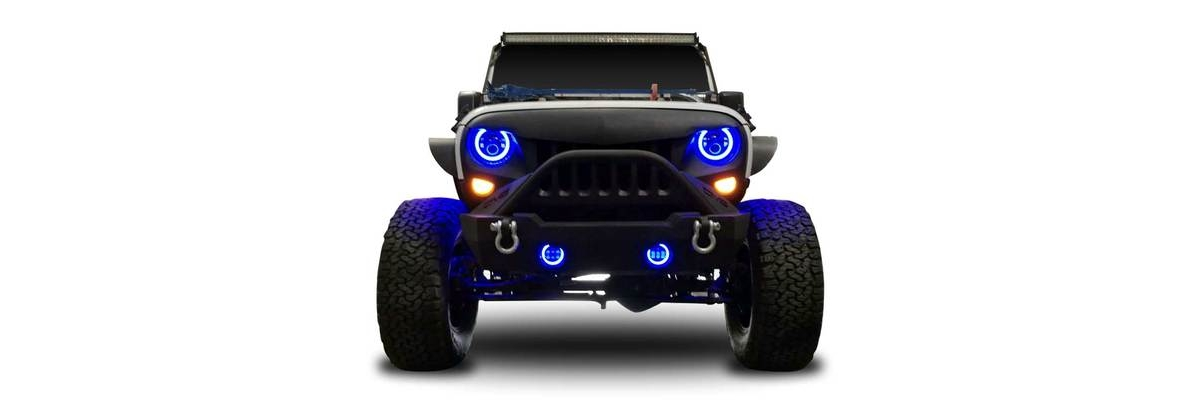 Halo Color Projector LED Headlights